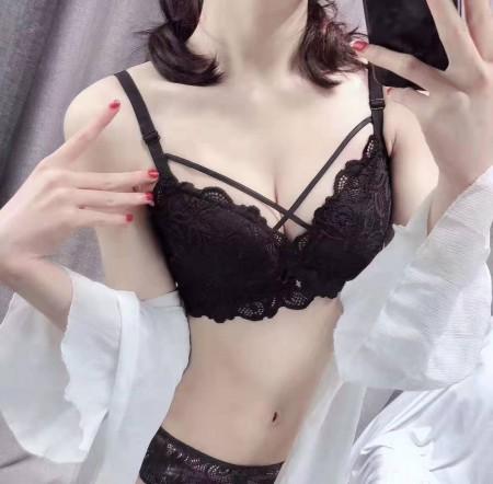 精美蕾絲饅頭杯內衣(3色)