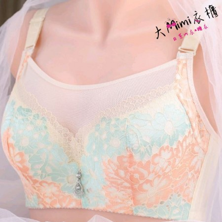 超美日系大罩杯內衣(單內衣)