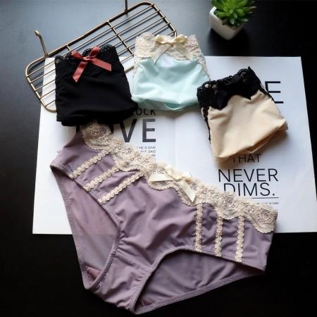 日系牛奶絲內褲(7色)