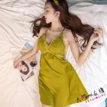 春夏冰絲綢睡衣(5色)