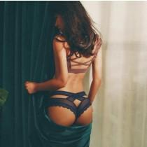 歐美款造型性感蕾絲無痕內褲