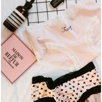 可愛蕾絲棉質內褲(3款)