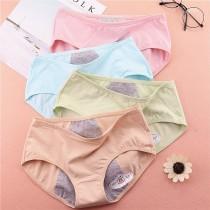 日系糖果色生理褲內褲