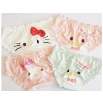 可愛卡通印花內褲(4色)