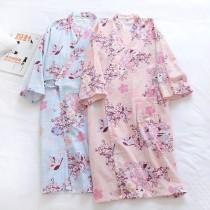 櫻花貓浴衣和服(粉色)