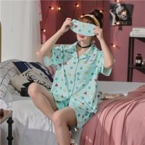 (小新)蠟筆小新的睡衣短袖褲裝-3色