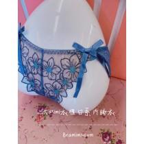 花朵蕾絲刺繡內褲(5色)