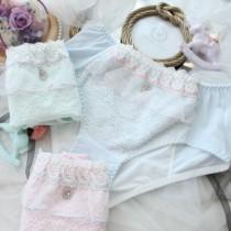優雅蕾絲生理褲內褲(3色)