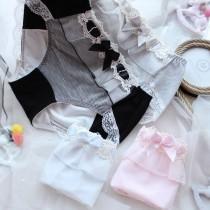 大緞帶蕾絲生理褲內褲