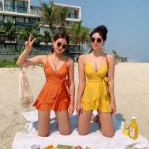 小香風連身泳衣(5色)