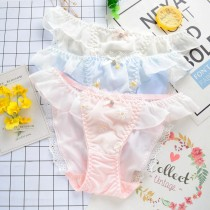 (現貨+預購)日系小花朵刺繡內褲-3色