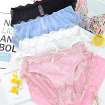 日系蕾絲可愛造型內褲-4色