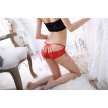 蕾絲繡花造型內褲