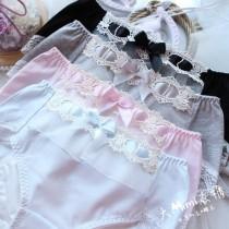 日系棉包臀生理褲(4色)