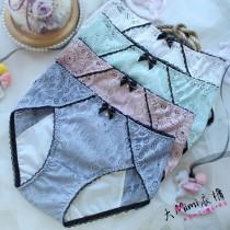 蕾絲鏤空防漏生理褲(4色)