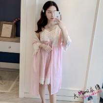 pajamas纯棉睡衣(2色)