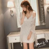 花千魅蕾絲睡衣(2色)