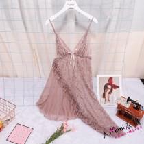 花朵蕾絲性感睡衣(7色)