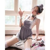 俏皮小護士套裝(2色)