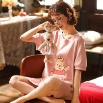 小熊維尼棉質長版衫