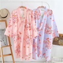 貓咪日系浴衣和服(2色)