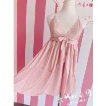 日系甜美綁帶造型性感睡衣