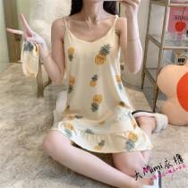 (鳳梨)無袖裙裝