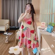 (大草莓)無袖裙裝