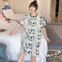 (白雪公主)短袖洋裝