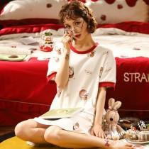 小丸子棉質長版衫