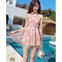 女神洋裝款泳衣(3色)