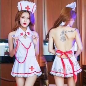 大露背小護士睡衣
