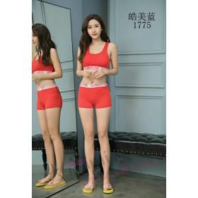 韓版運動風泳衣